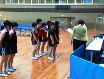 大阪高校新人卓球大会 ダブルスの部 3位入賞
