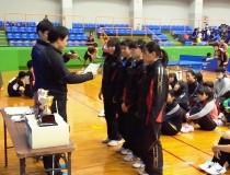 MSJ記念大会表彰式 Aチーム 優勝 Bチーム 第3位