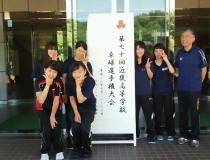 第70回近畿高等学校卓球選手権大会出場メンバーの一部