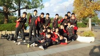 11/3一次予選突破。大阪高校総体 ベスト16入り!