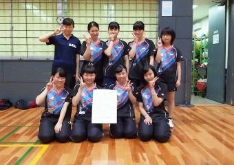 第71回大阪高校総体ベスト4入り。