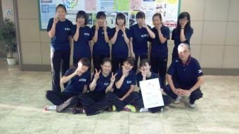 第70回大阪高等学校新人卓球大会 3位入賞