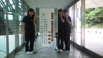 第56回近畿卓球選手権大会出場メンバー 今年は和歌山県立橋本体育館で行われました。