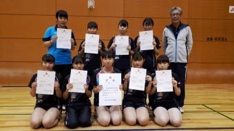 第73回大阪高等学校総合体育大会 準優勝メンバー!