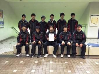 チャレンジカップⅡ部 3位トーナメント優勝