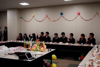平成27年度生卒業メンバー。男女共頑張りました。